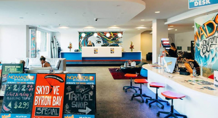 Nomads Byron Bay Backpackers | Hostel Jobs